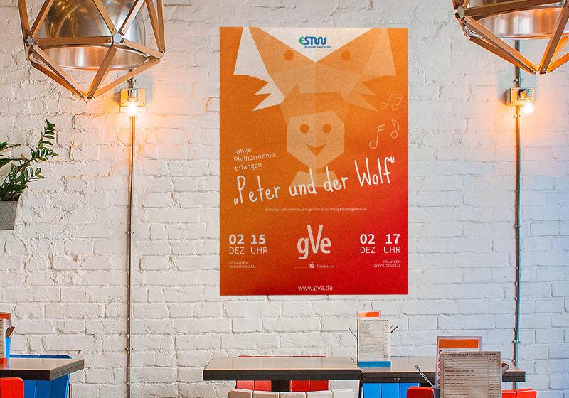 Plakat für das gVe-Familienkonzert
