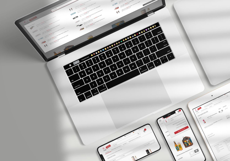 B2B-Shop Funktionen: Filter, Warenkorb, Suche und Schnellkauf