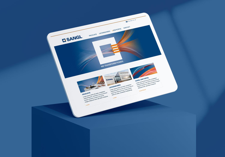 sangl-website
