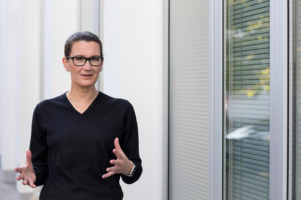 Sandra Gumbrecht im Gespräch