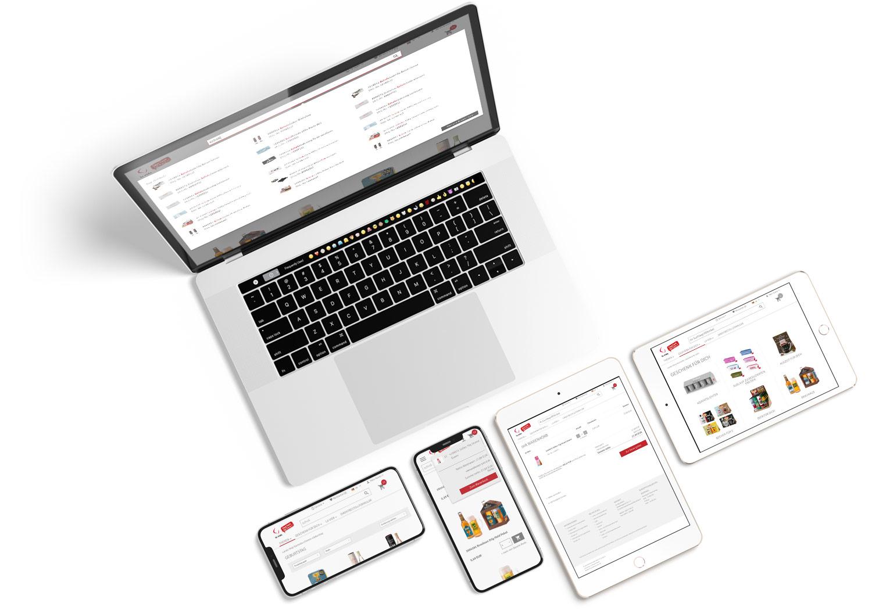 Responsive Webdesign für la Vida Onlineshop