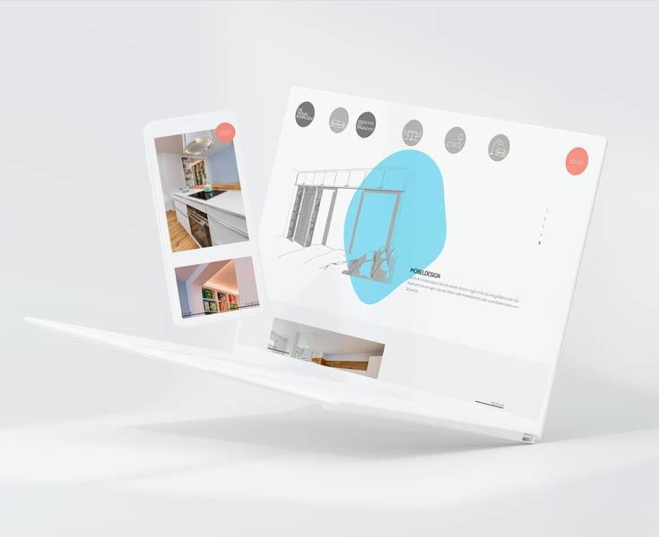 Responsive Webdesign für die Wohnkomplizen